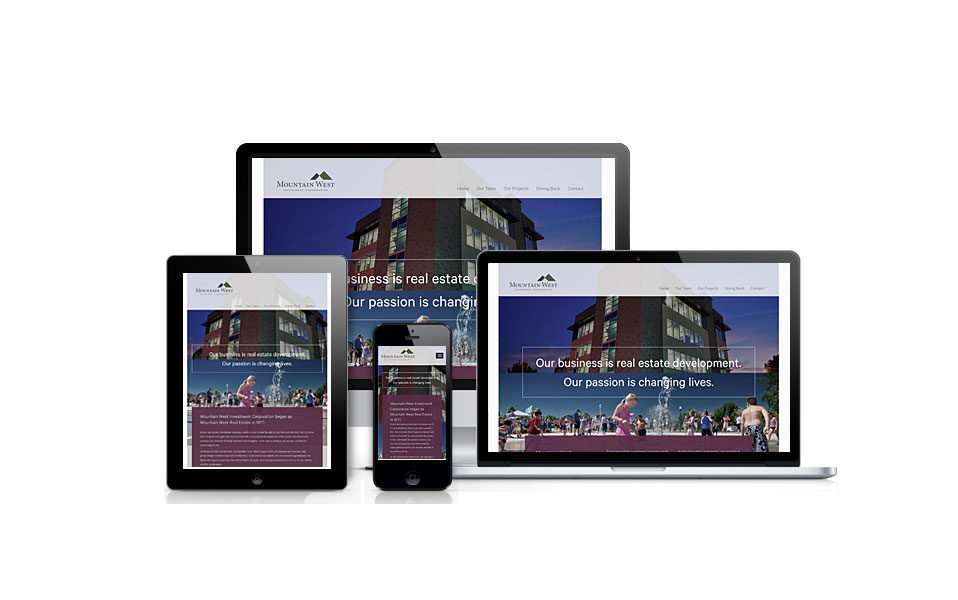 Mountain West Investments was designed by Studio Absolute and developed by GelFuzion as part of our agency partnership. The site was built using Adobe Business Catalyst and is fully responsive.