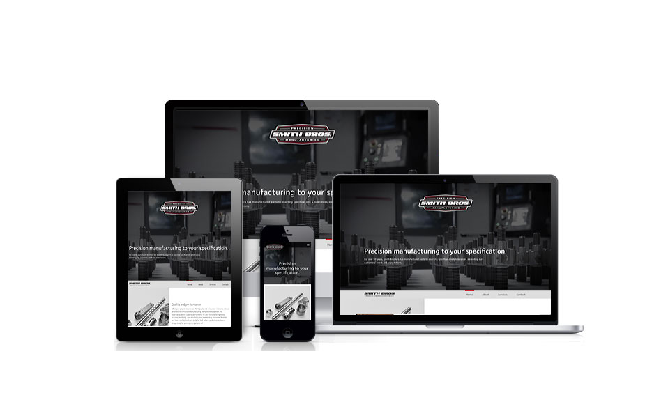 Smith Brothers Precision Manufacturing was designed by Studio Absolute and developed by GelFuzion as part of our agency partnership. The site was built using Adobe Business Catalyst and is fully responsive.