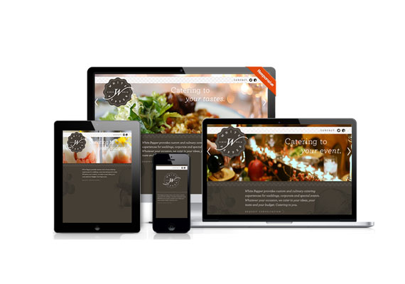 White Pepper was designed by Brand Navigation and developed by GelFuzion as part of our agency partnership. The site was built using the Adobe Business Catalyst CMS and is fully responsive.